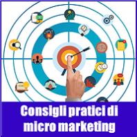 Consigli pratici di micro marketing